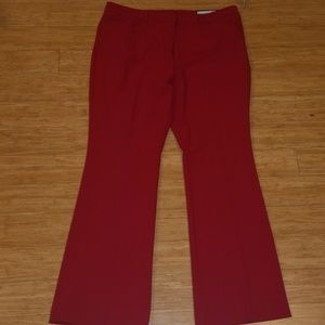 NWT Red Pants
